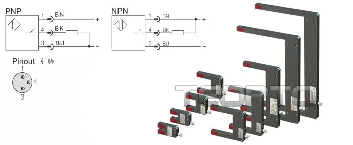 槽型光电传感器 三易电气-环形传感器|接近开关|光电