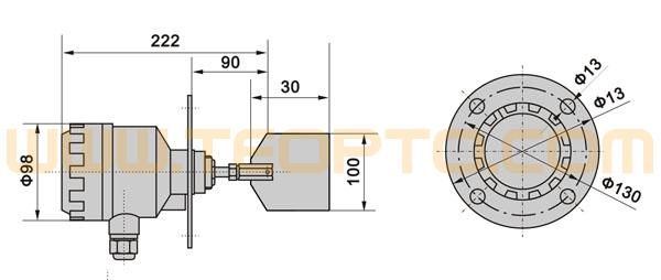 220v烘料机电路图